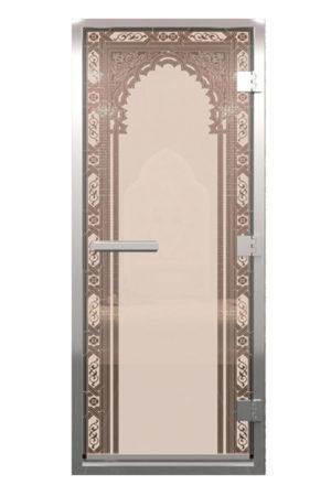 Двери для хамама стеклянные